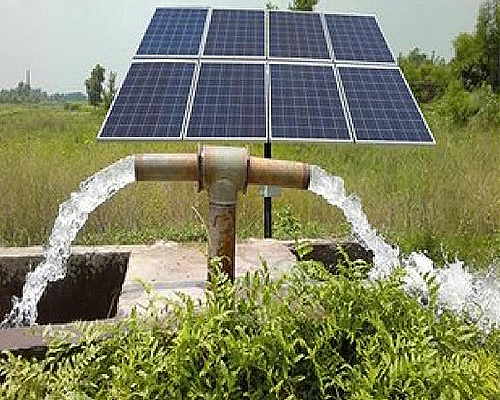 Solar Water Pumping System Surya Shakthipower Solution